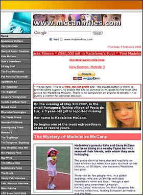 McCanns website